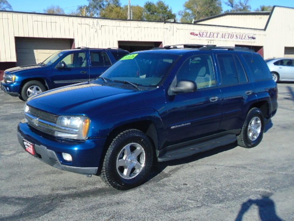 2003 Chevrolet TrailBlazer LT 4X4  - 10428  - Select Auto Sales