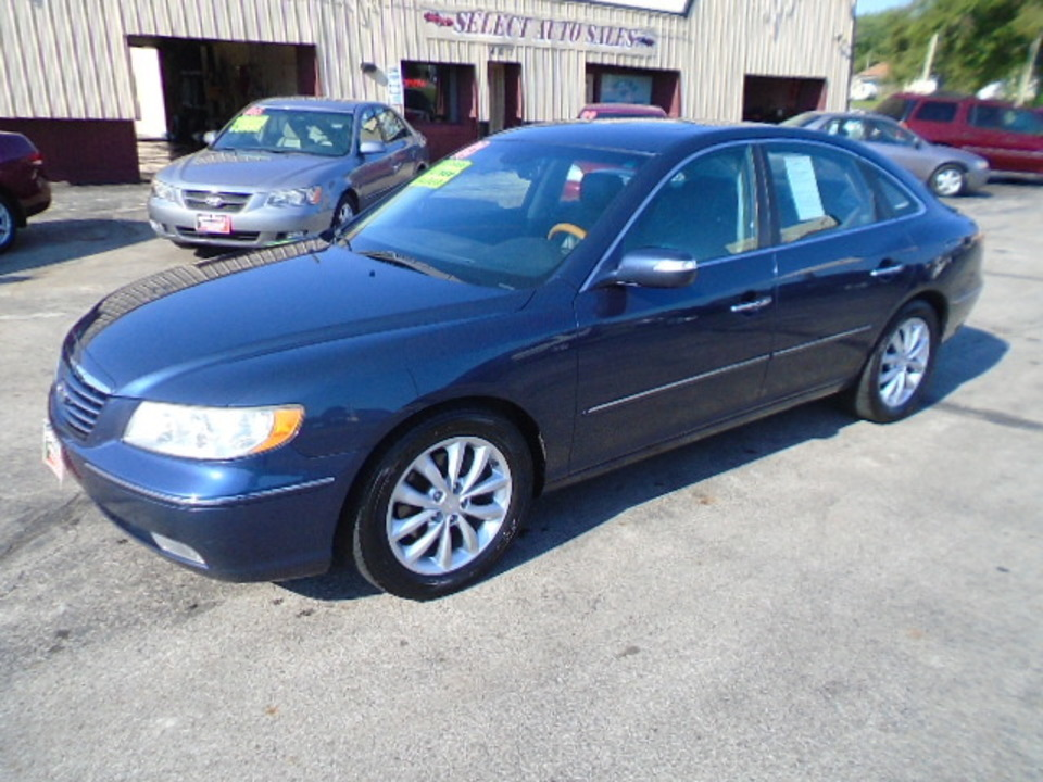 2008 Hyundai Azera Limited  - 10240  - Select Auto Sales