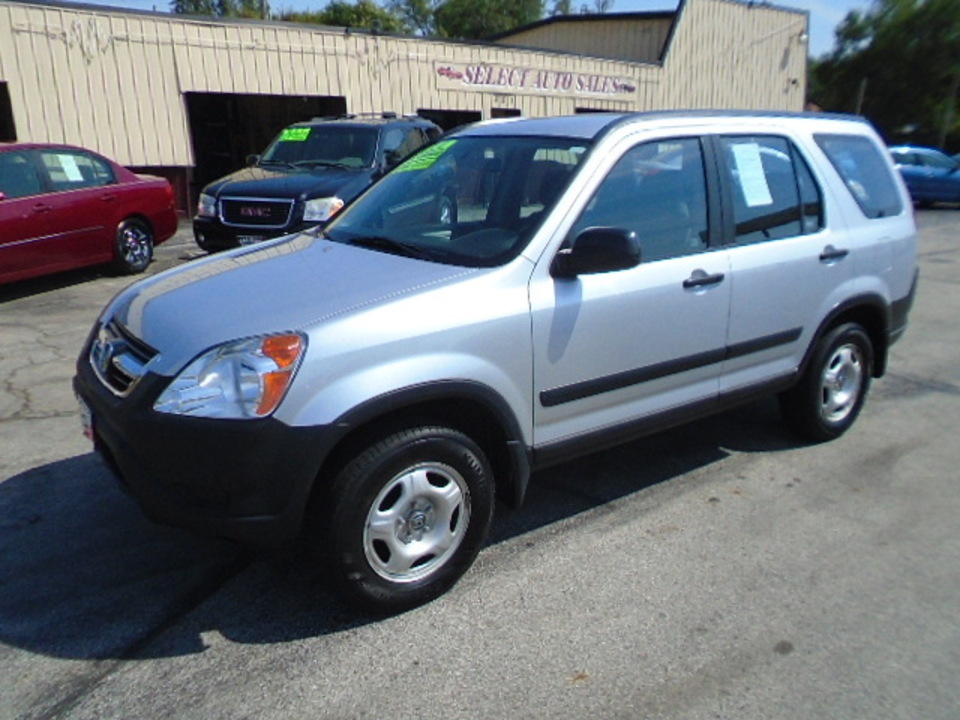 2004 Honda CR-V LX 4x4  - 10384  - Select Auto Sales
