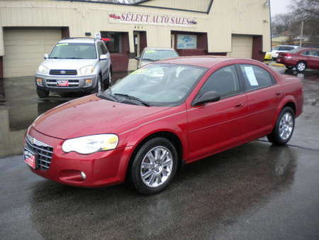 2005 Chrysler Sebring Touring Sedan for Sale  - 9990  - Select Auto Sales