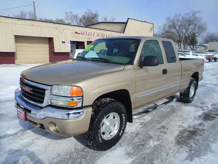2004 GMC Sierra 1500 SLE EX-Cab 4X4 Z-71 Off Road for Sale  - 10147  - Select Auto Sales