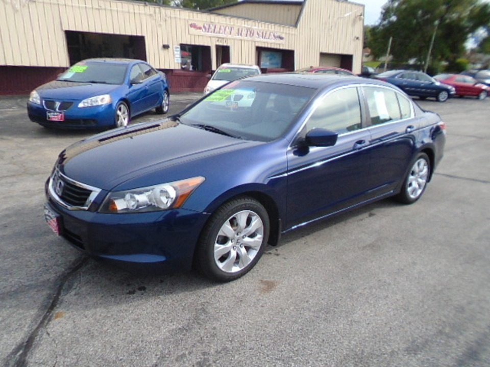 2009 Honda Accord EX-L  - 10259  - Select Auto Sales