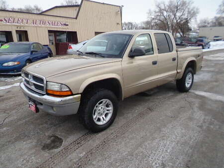 2004 Dodge Dakota 4X4 Quad Cab SLT for Sale  - 10482  - Select Auto Sales