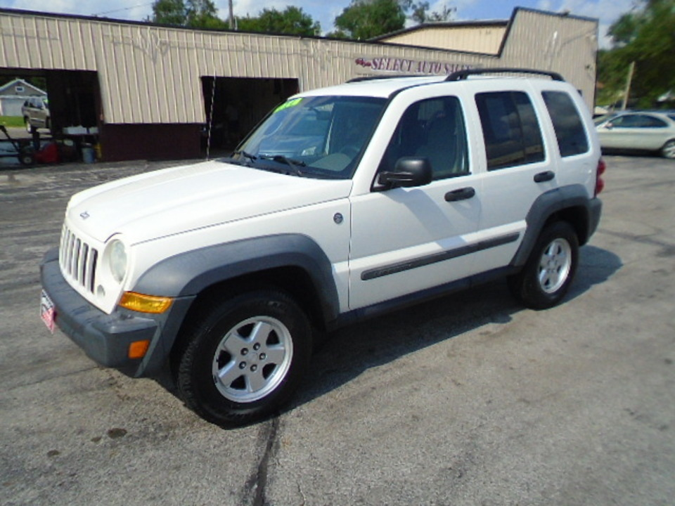 2007 Jeep Liberty Sport 4x4  - 10583  - Select Auto Sales