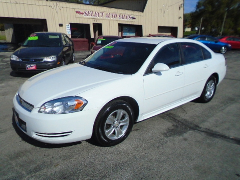 2013 Chevrolet Impala LS  - 10275  - Select Auto Sales