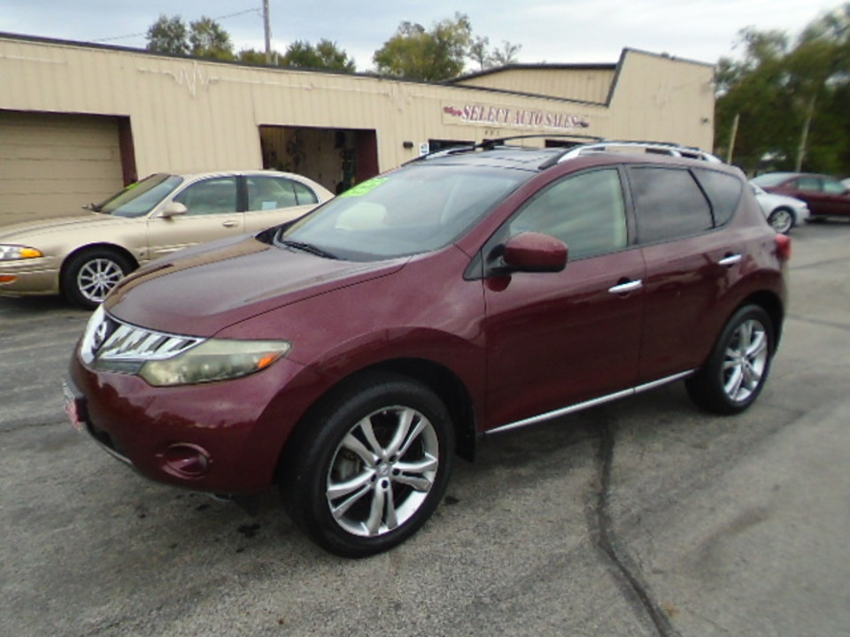 2009 Nissan Murano LE AWD  - 10421  - Select Auto Sales