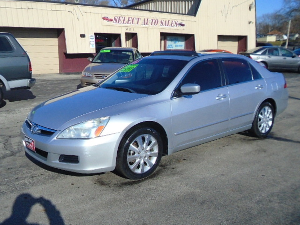 2006 Honda Accord EX  - 10288  - Select Auto Sales