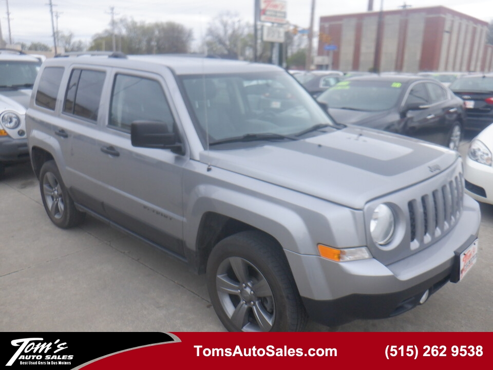2016 Jeep Patriot Sport SE  - 03235  - Tom's Auto Sales, Inc.