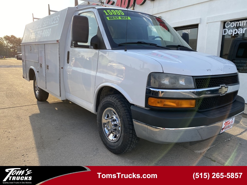 2013 Chevrolet Express Commercial Cutaway  - T121923  - Tom's Truck