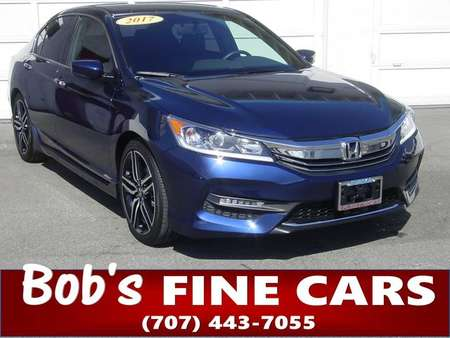 2017 Honda Accord Sedan Sport SE for Sale  - 5099  - Bob's Fine Cars