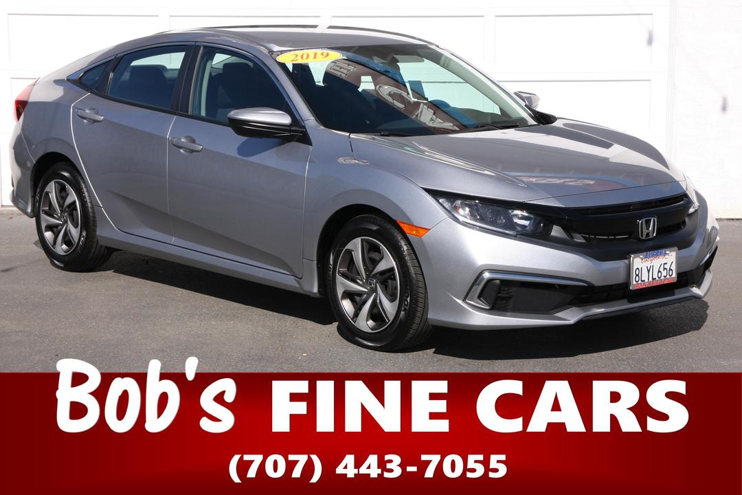 2019 Honda Civic Sedan LX  - 5480  - Bob's Fine Cars