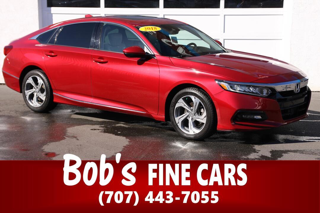 2018 Honda Accord Sedan EX-L 1.5T  - 5549  - Bob's Fine Cars