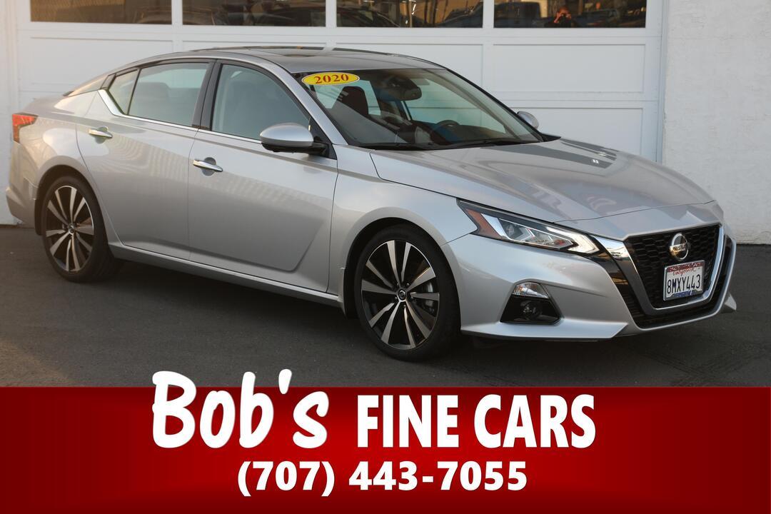 2020 Nissan Altima 2.0 Platinum  - 5573  - Bob's Fine Cars