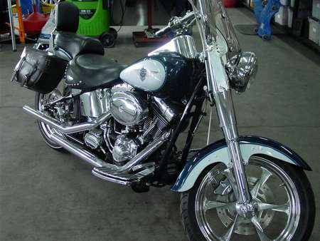 2001 Harley-Davidson Fat Boy  for Sale  - 4926  - Bob's Fine Cars