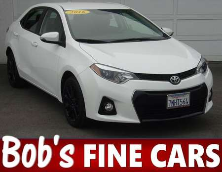 2016 Toyota Corolla S w/Special Edition Pkg for Sale  - 5143  - Bob's Fine Cars