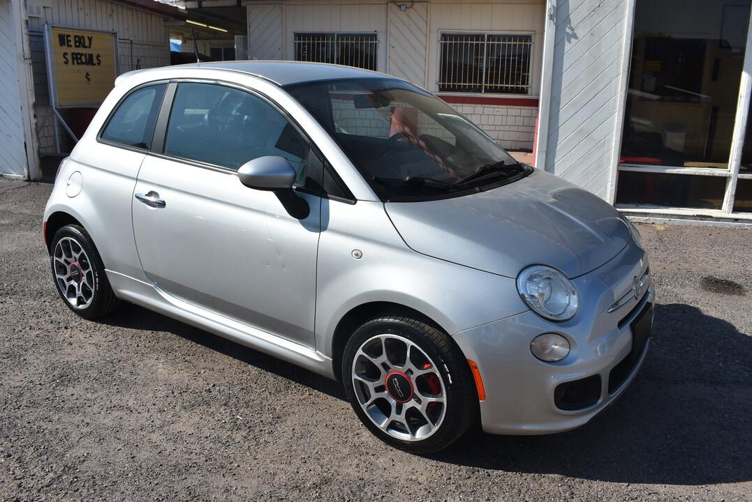 2012 Fiat 500  - Dynamite Auto Sales