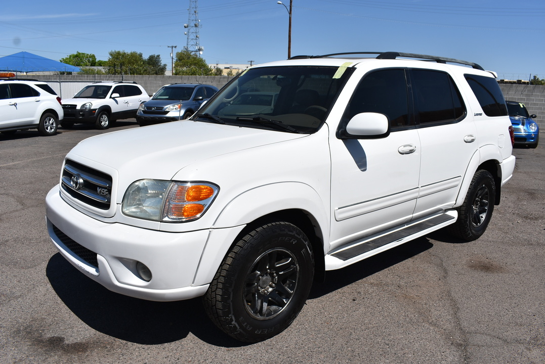 2003 Toyota Sequoia Limited  - 21075  - Dynamite Auto Sales