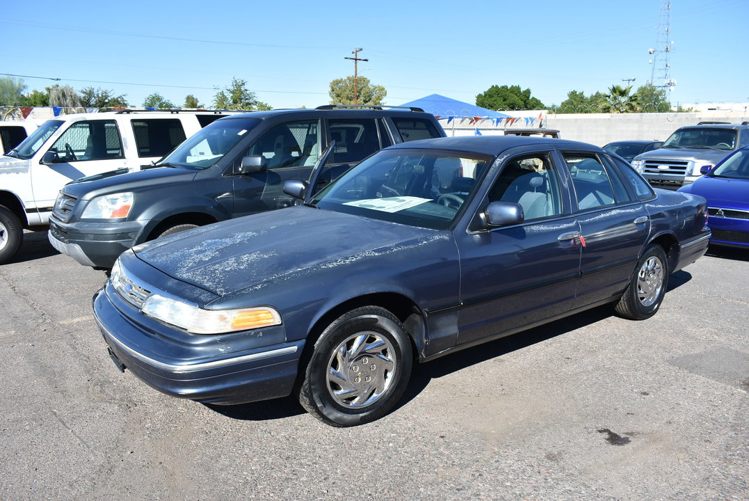 1997 Ford Crown Victoria Police Pkg  - Dynamite Auto Sales