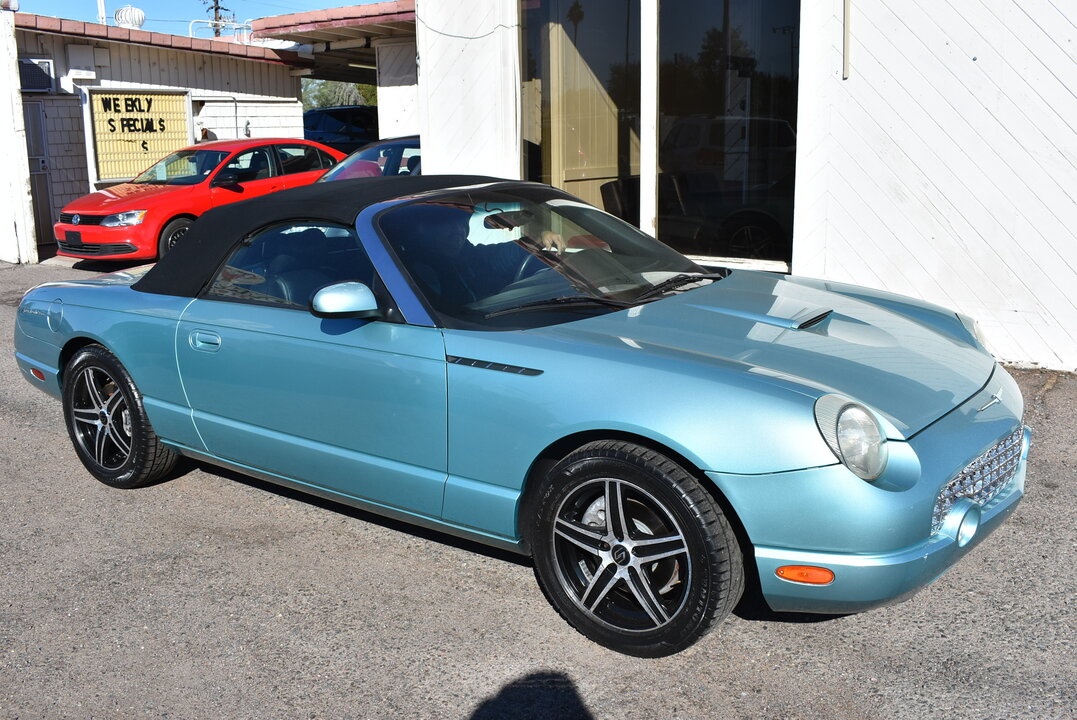 2002 Ford Thunderbird Deluxe  - 21012  - Dynamite Auto Sales