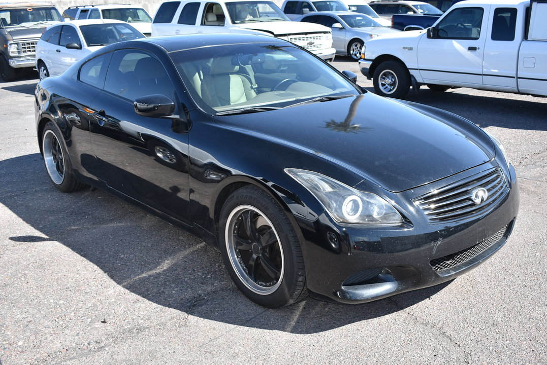 2008 Infiniti G37 Coupe Jour