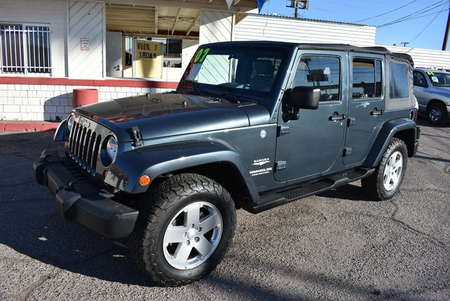 2007 Jeep Wrangler Unlimited Sahara for Sale  - W21905  - Dynamite Auto Sales