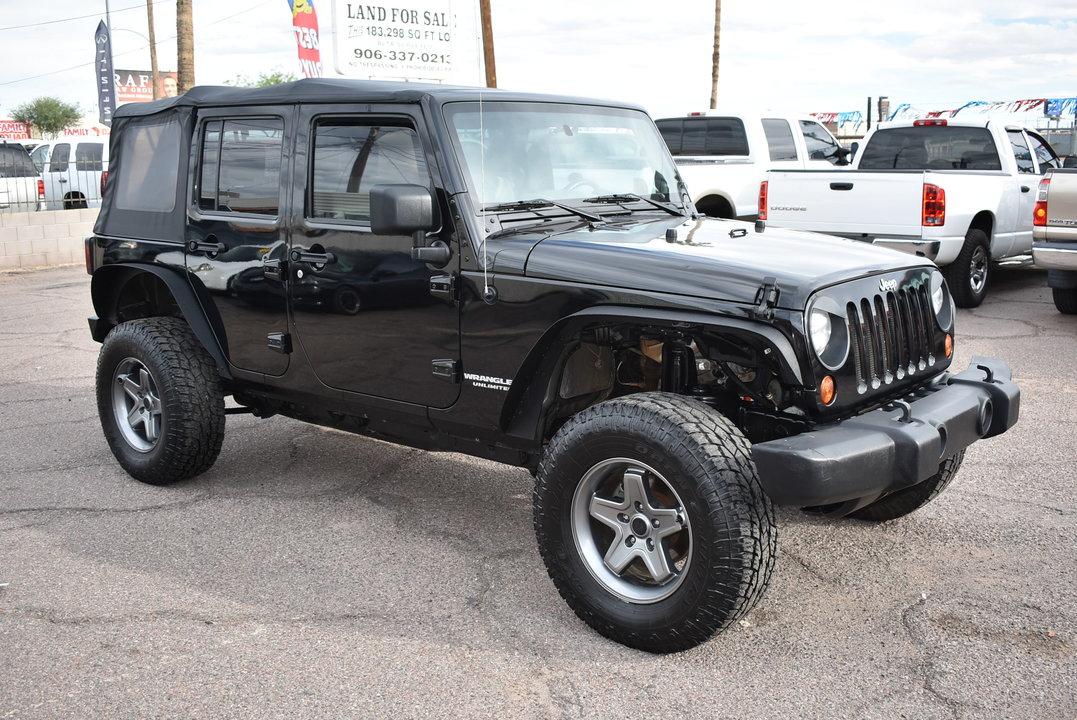 2010 Jeep Wrangler  - Dynamite Auto Sales
