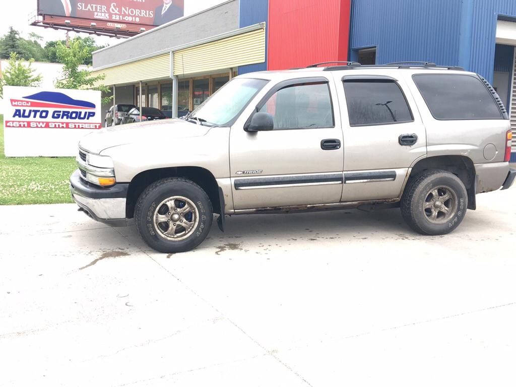 2001 Chevrolet Tahoe  - MCCJ Auto Group