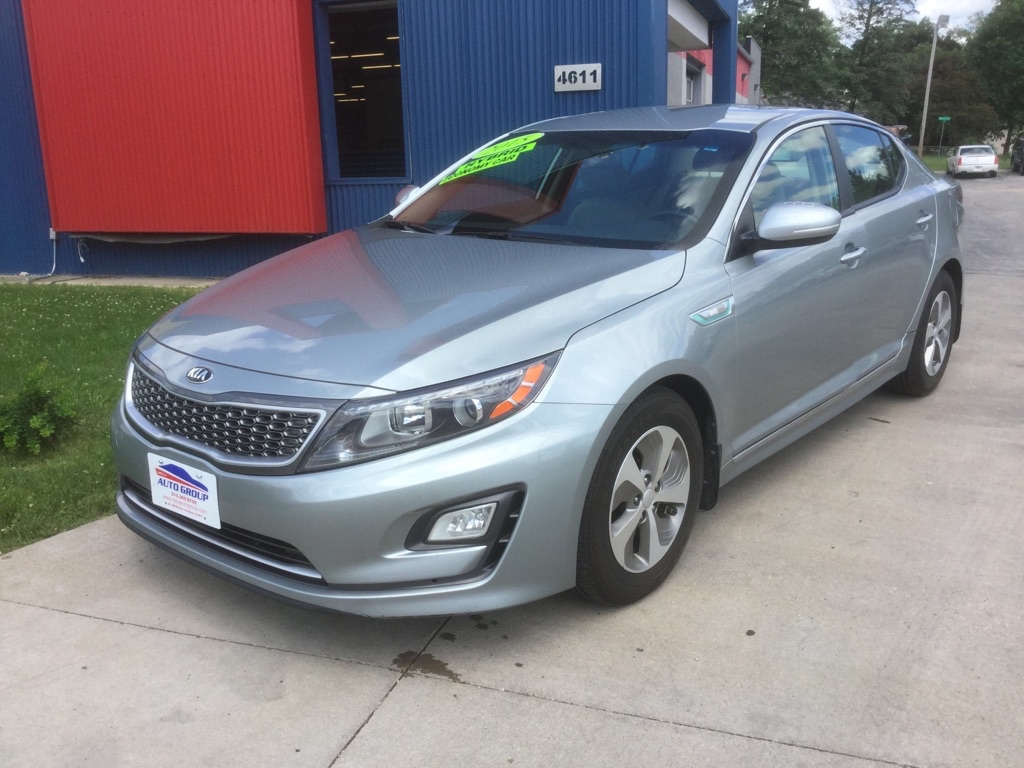 2015 Kia OPTIMA HYBRID  - MCCJ Auto Group