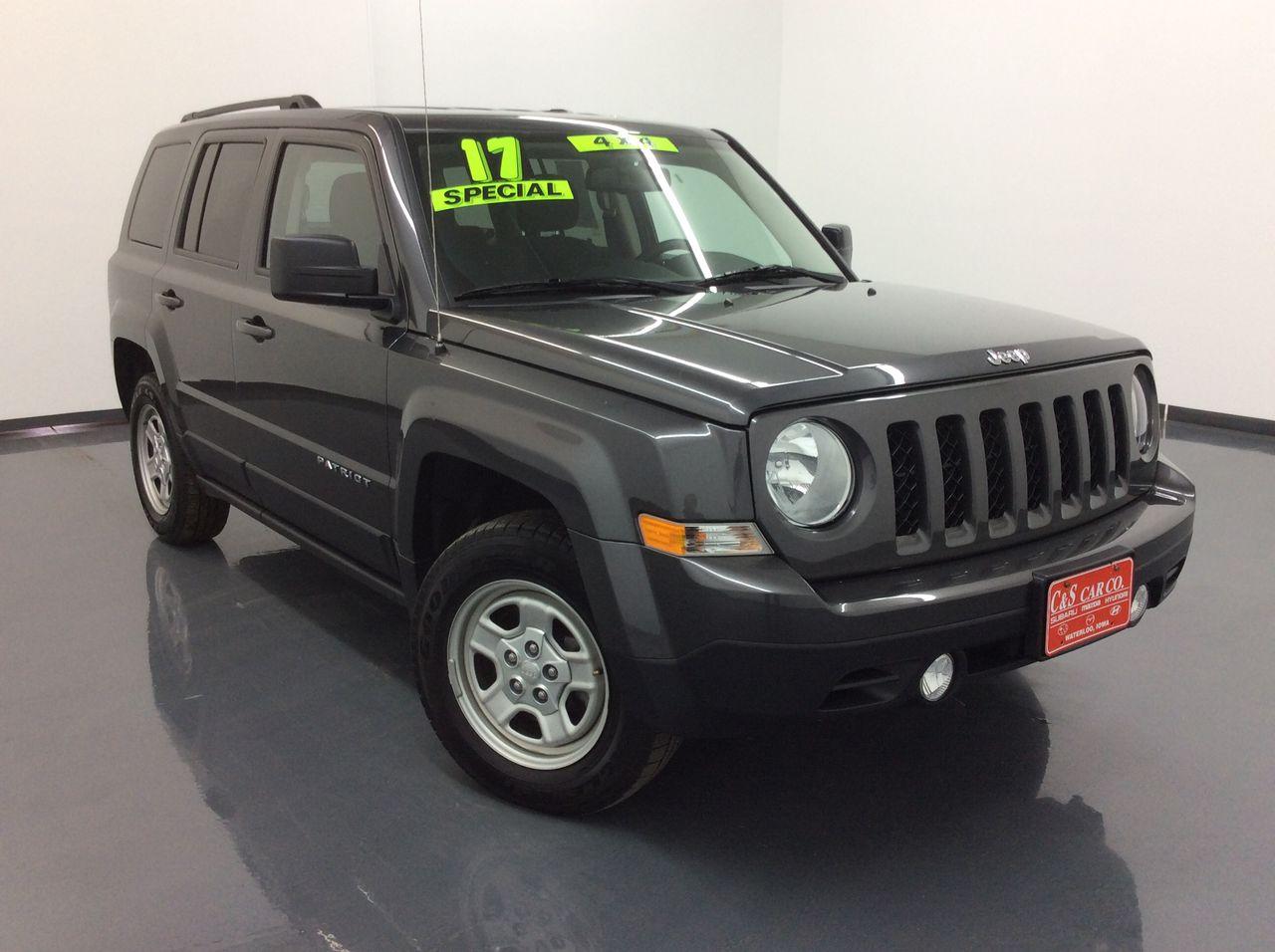 2017 Jeep Patriot  - C & S Car Company