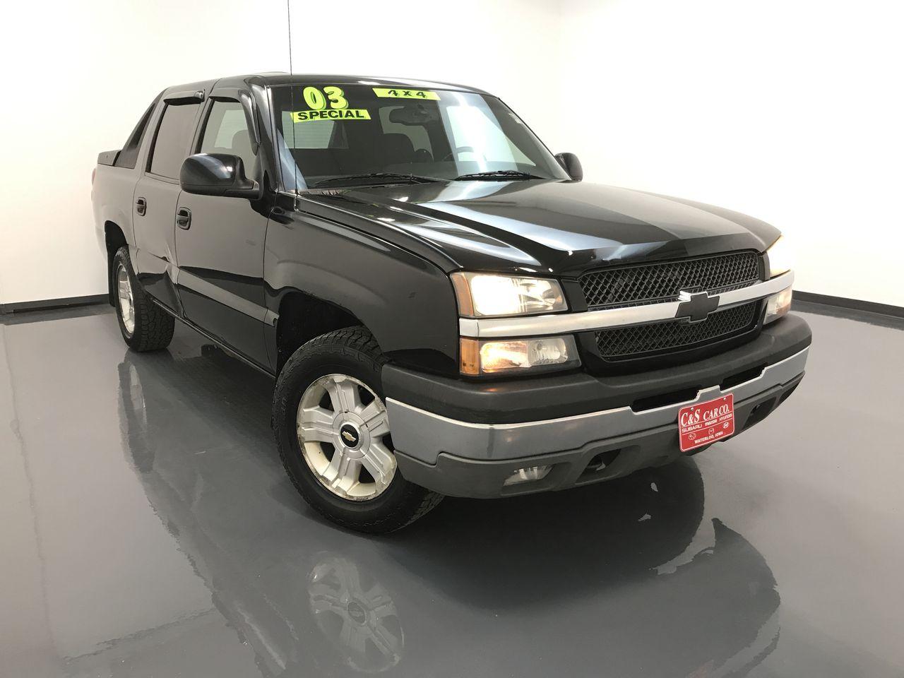 2003 Chevrolet Avalanche  - C & S Car Company