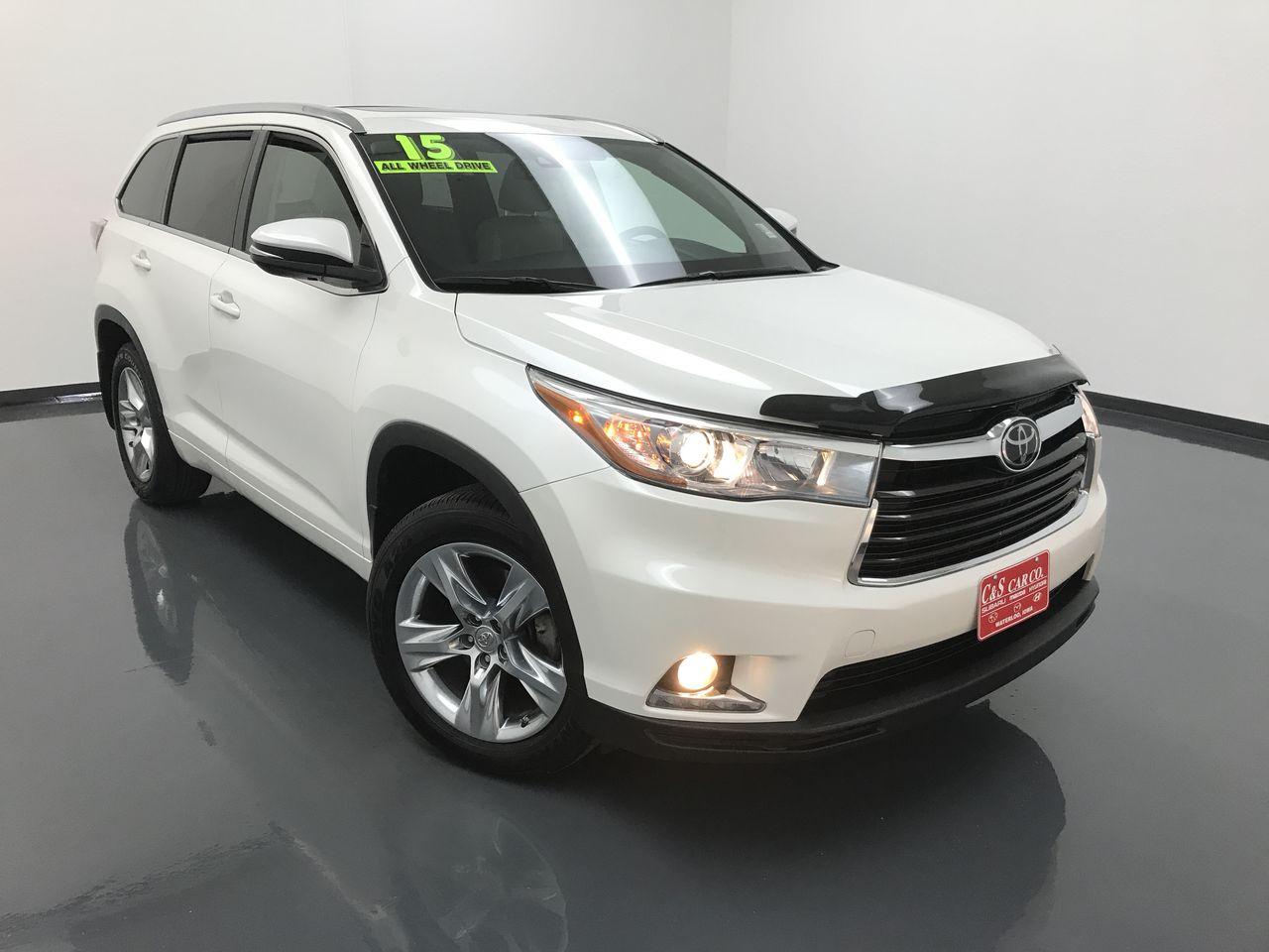 2015 Toyota Highlander  - C & S Car Company