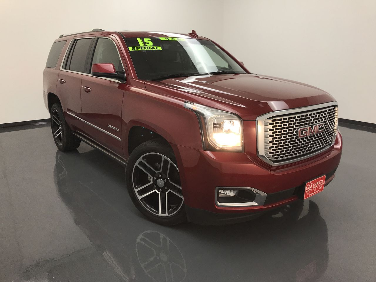 2015 Gmc Yukon Denali Awd Stock Sb7047a Waterloo Ia Thumbnail C S Car Company