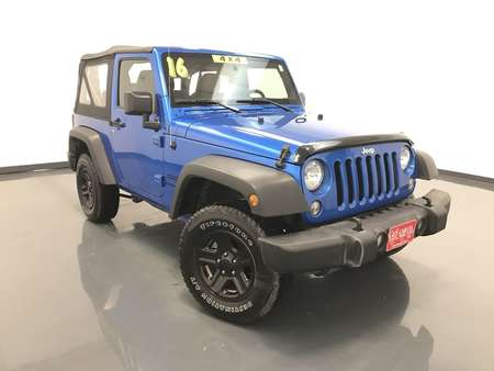 2016 Jeep Wrangler Sport 2dr 4WD for Sale  - 15580  - C & S Car Company