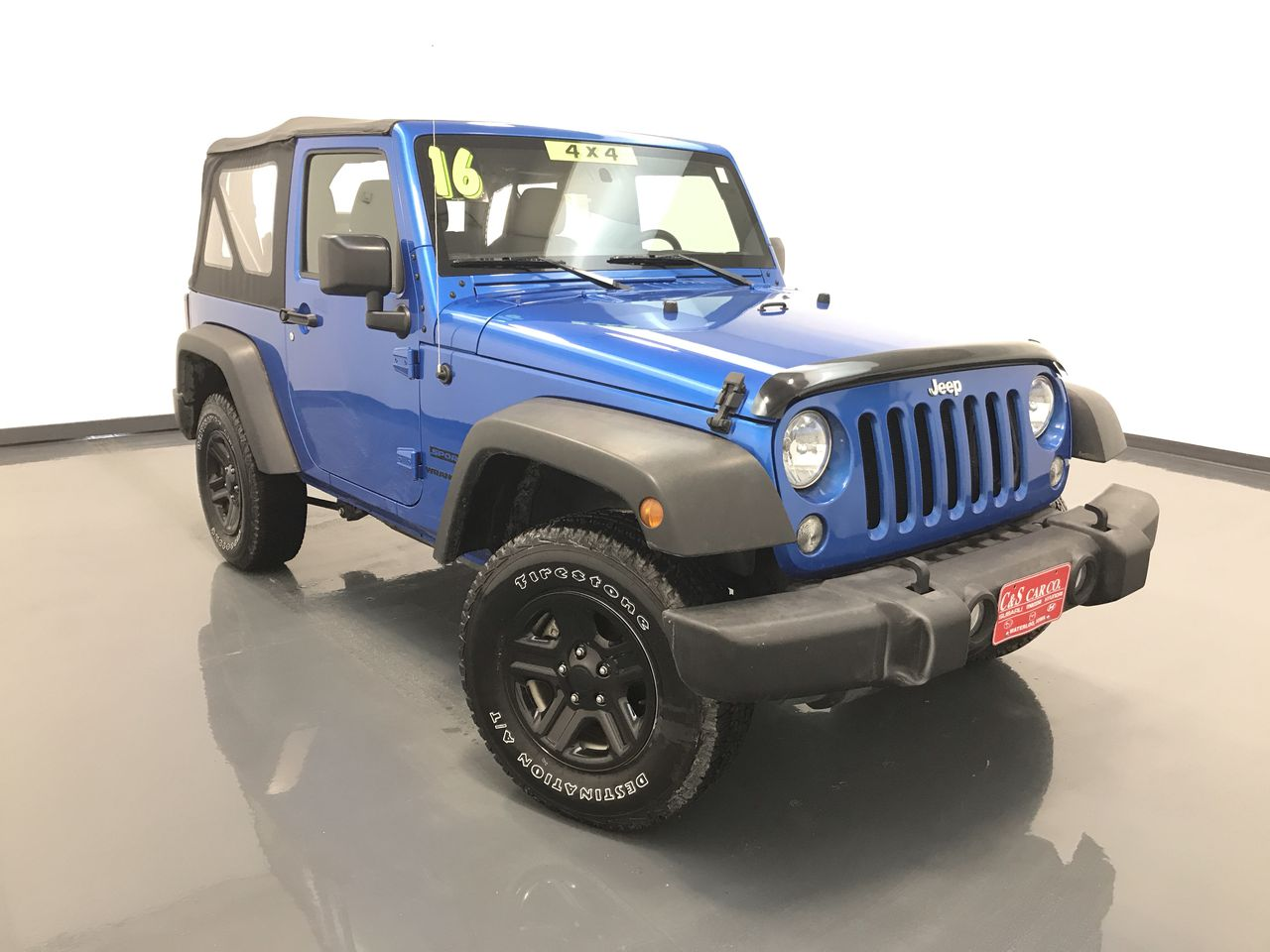 2016 Jeep Wrangler  - C & S Car Company