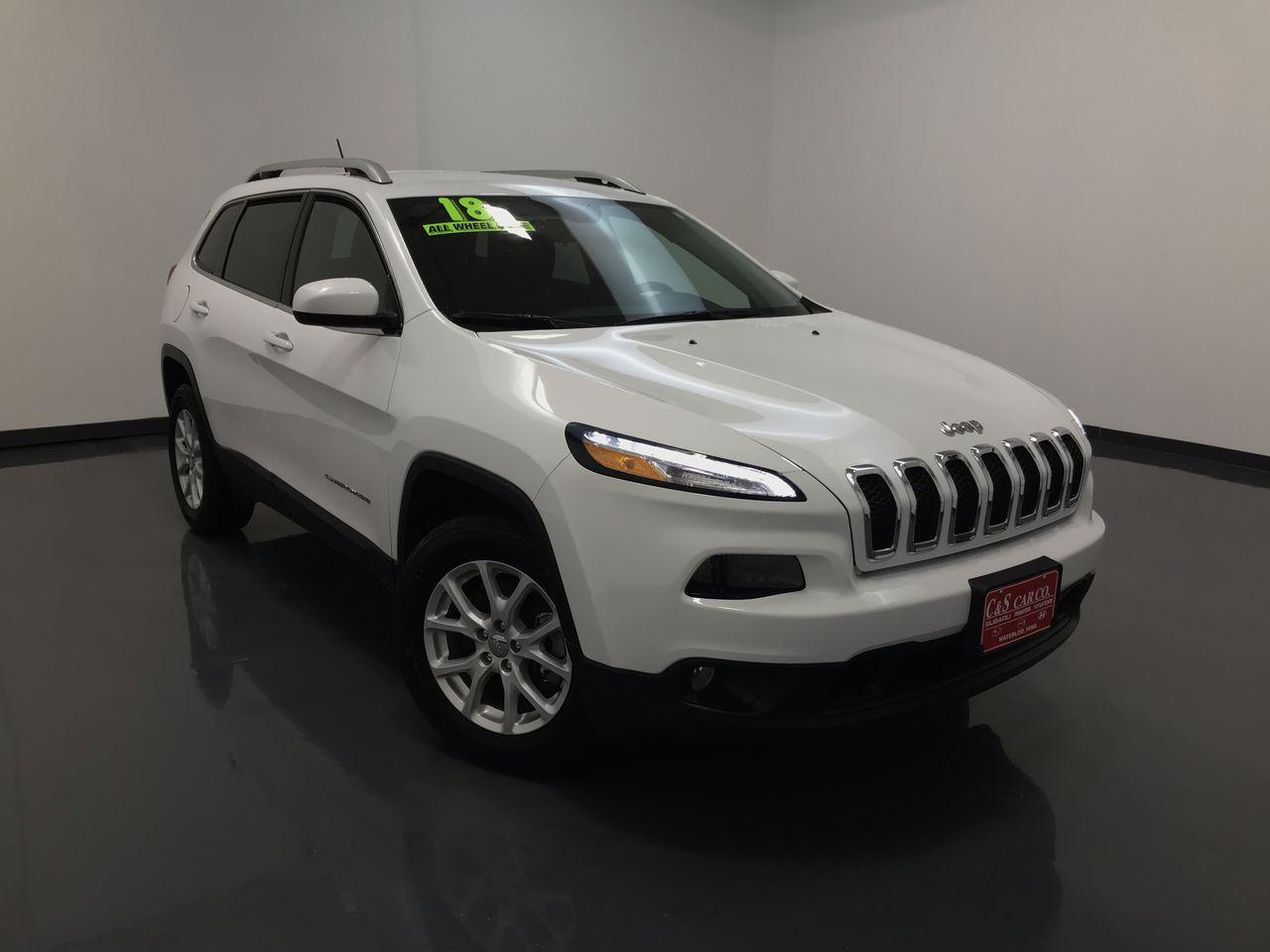 2018 Jeep Cherokee  - C & S Car Company