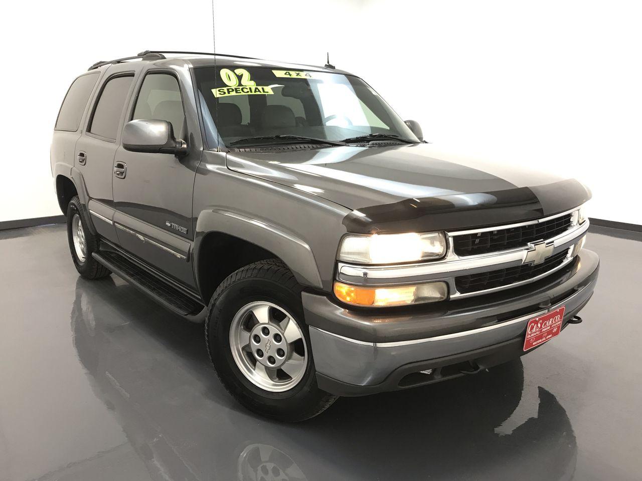 2002 Chevrolet Tahoe  - C & S Car Company