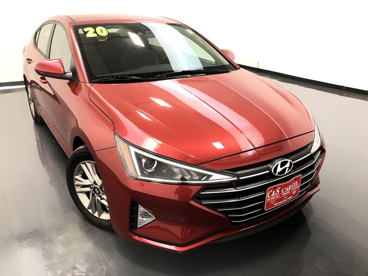 2020 Hyundai Elantra SEL  - HY8085  - C & S Car Company