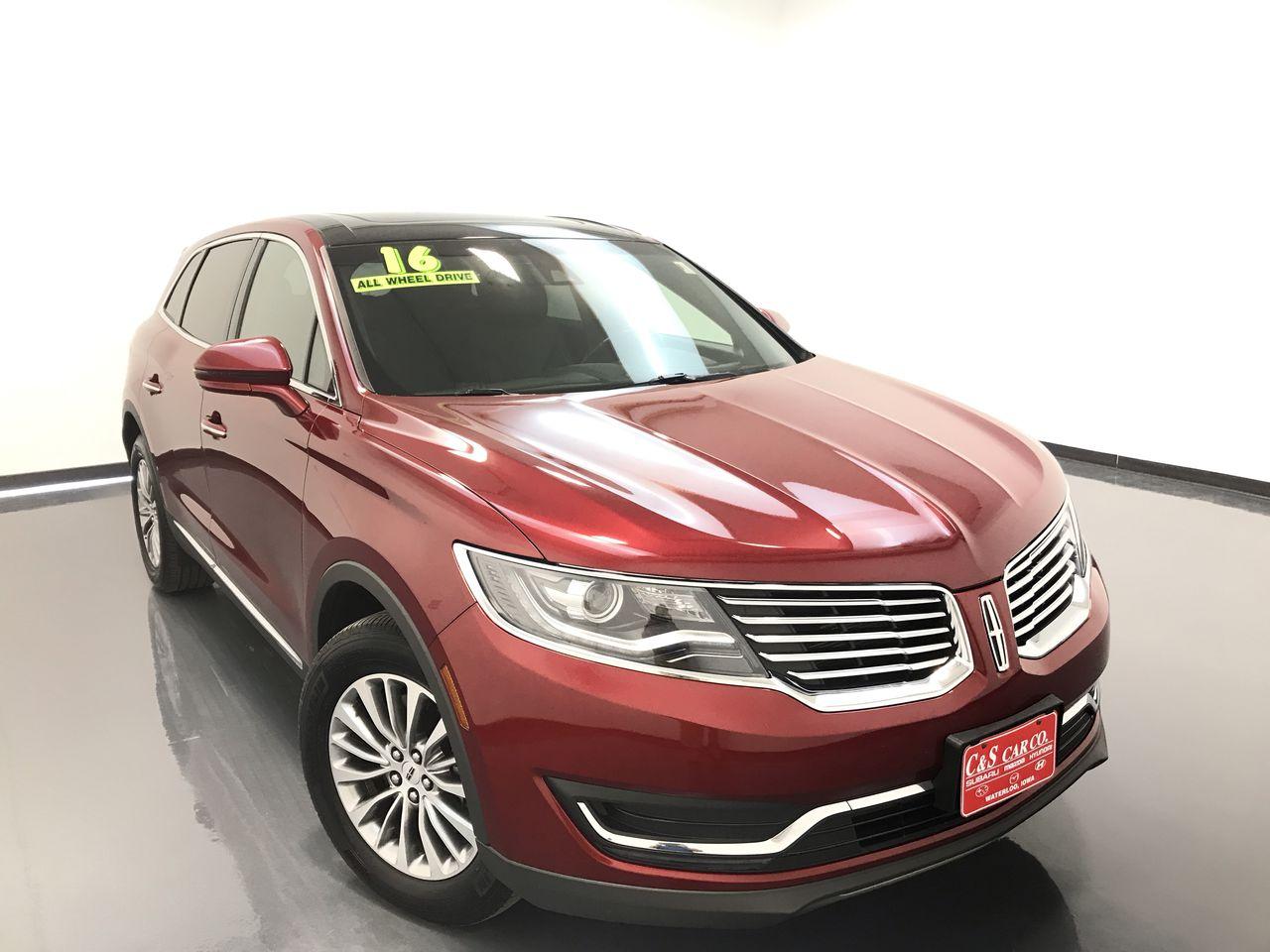 2016 Lincoln MKX  - C & S Car Company