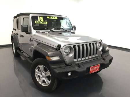 2018 Jeep Wrangler Unlimited Sport 4WD for Sale  - 15623B2  - C & S Car Company