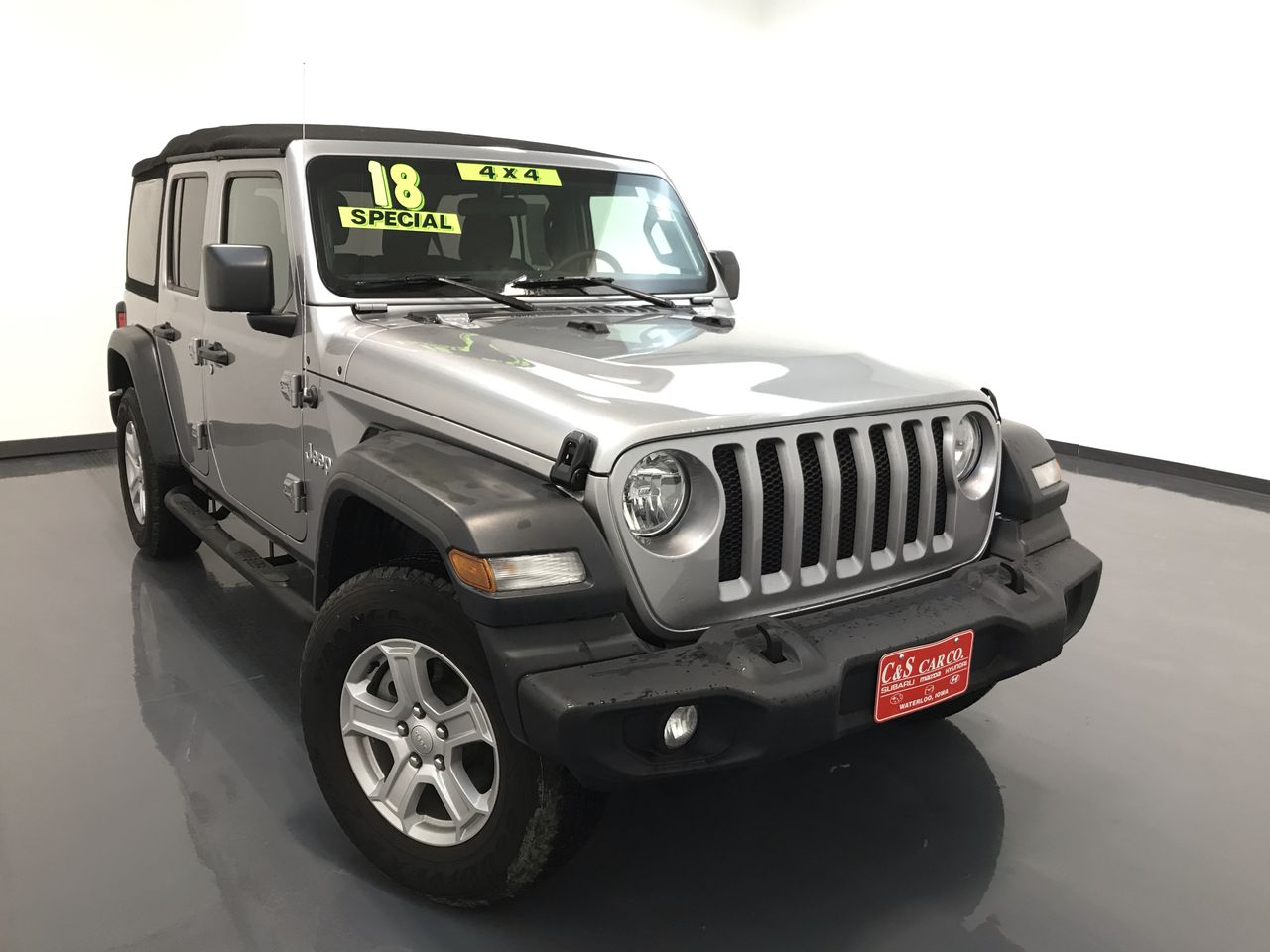 2018 Jeep Wrangler Unlimited Sport 4WD  - 15623B2  - C & S Car Company