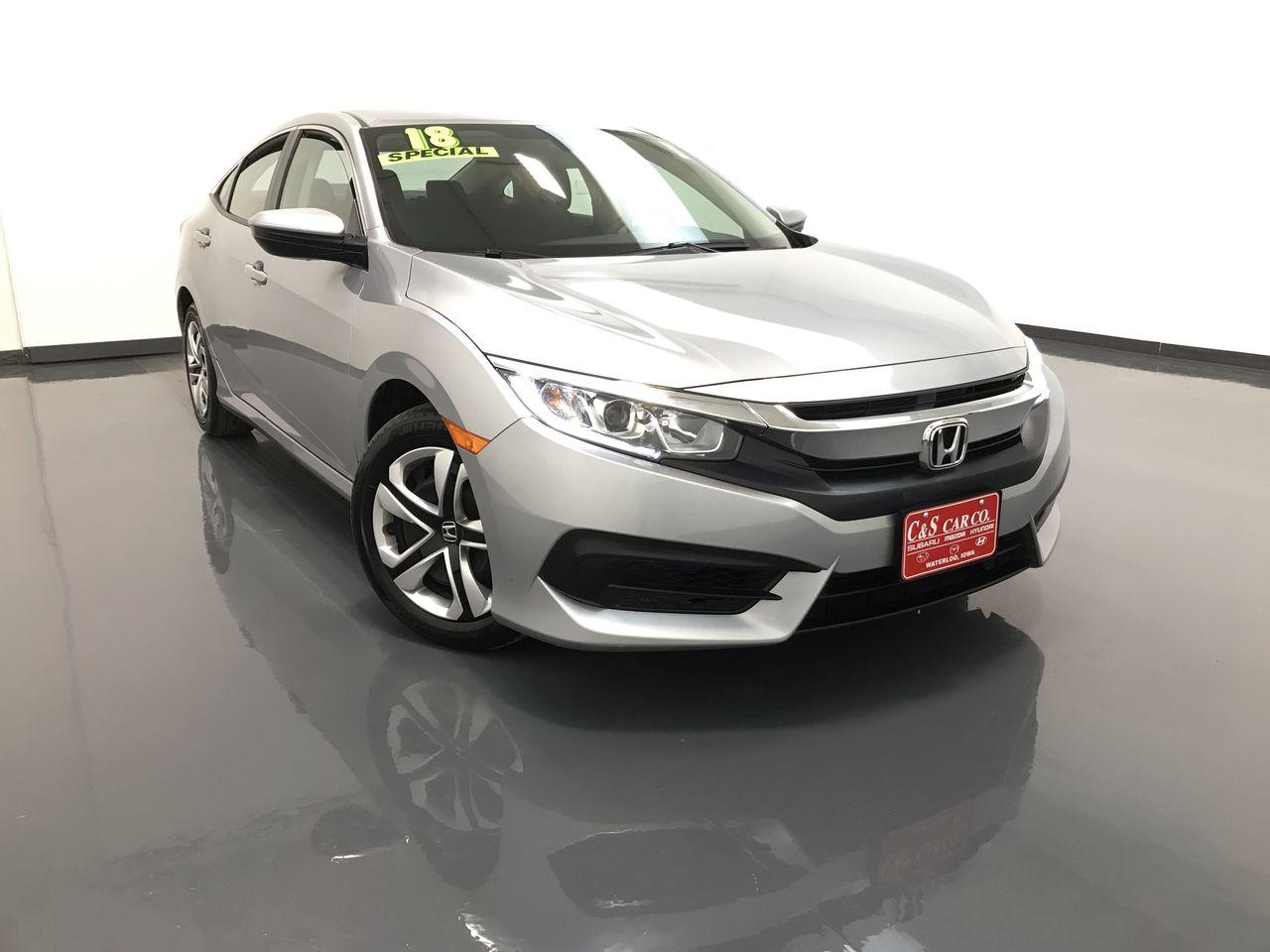 2018 Honda Civic LX  - SB8156A  - C & S Car Company