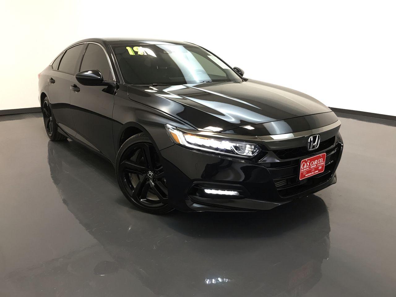 2019 Honda Accord Sport  - GS1014A  - C & S Car Company