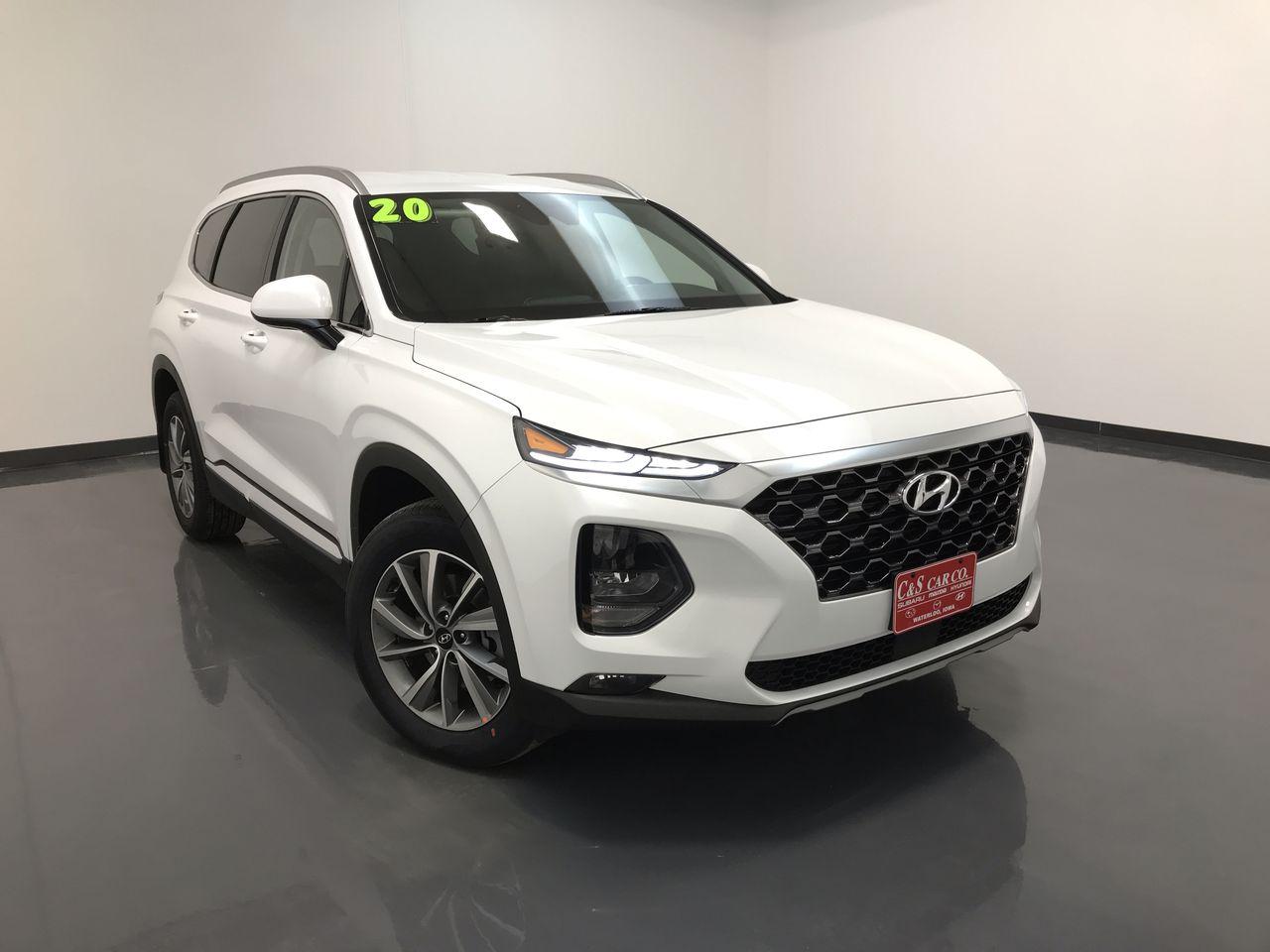 2020 Hyundai Santa Fe Sel 2 4l Stock Hy8278 Waterloo Ia