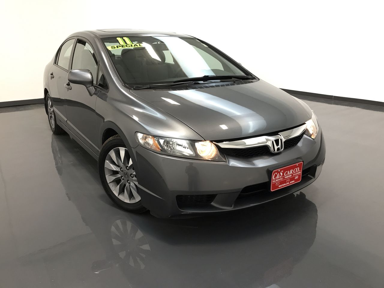 2011 Honda Civic EX  - 15985  - C & S Car Company