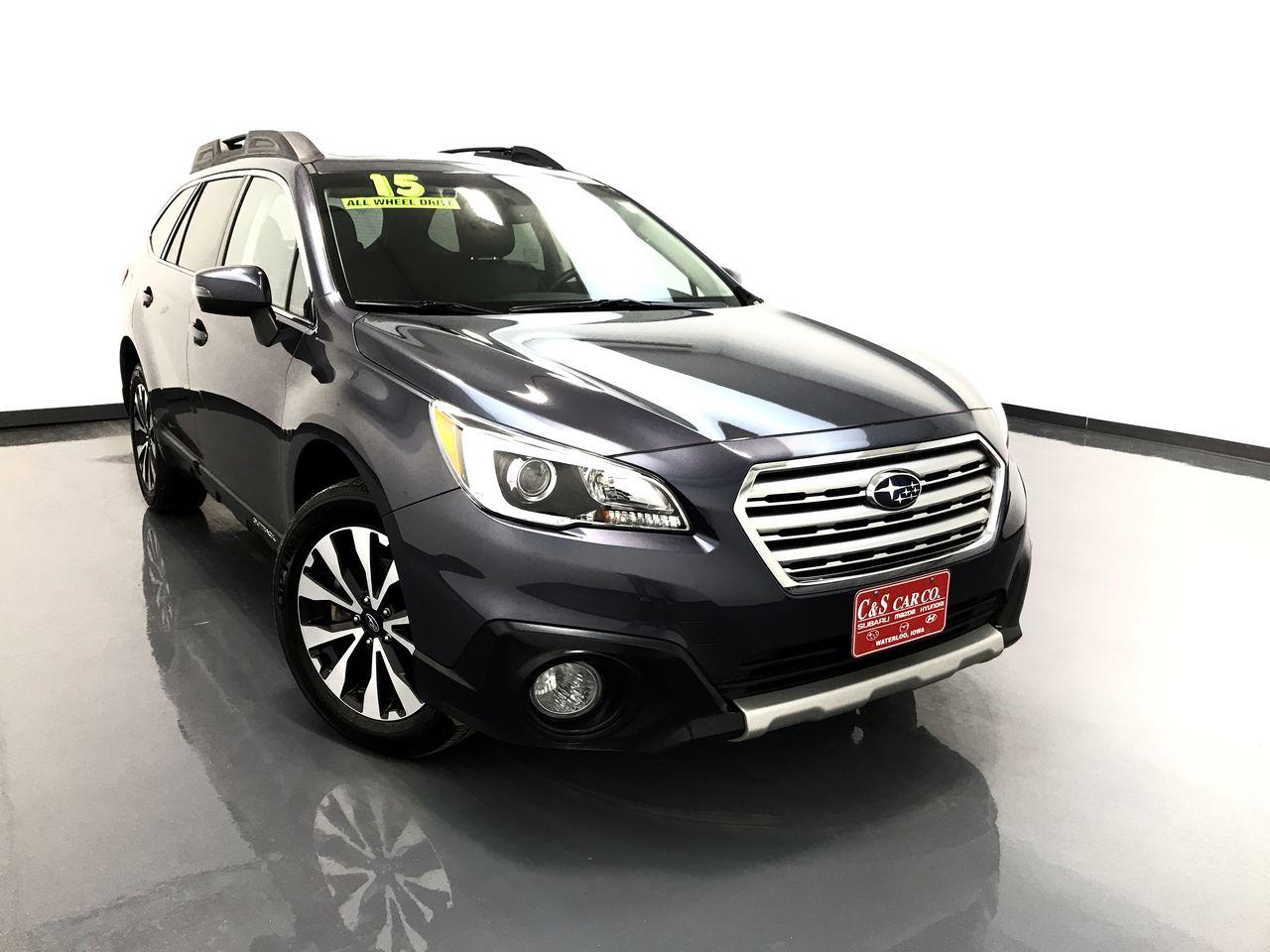 Subaru 6 Cylinder >> 2015 Subaru Outback 3 6r Limited W Eyesight Stock Sb8341a Waterloo Ia