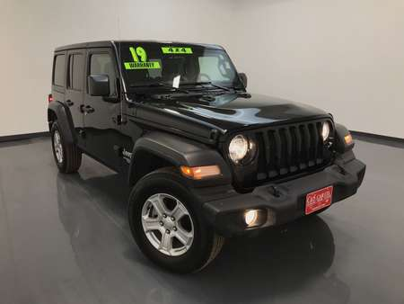 2019 Jeep Wrangler Unlimited Sport 4WD for Sale  - 16002  - C & S Car Company