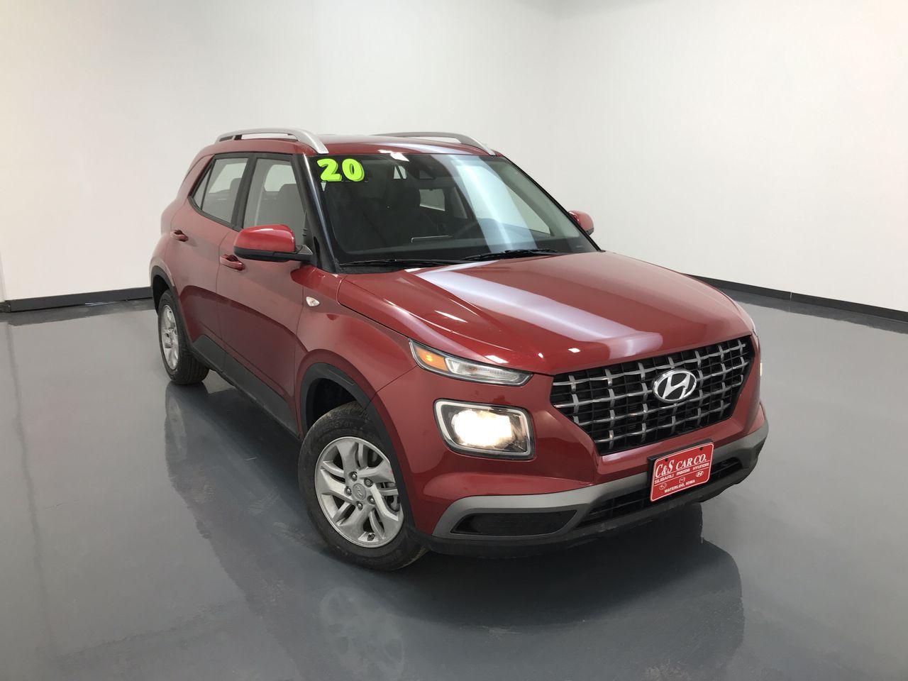 2020 Hyundai VENUE SEL  - HY8321  - C & S Car Company