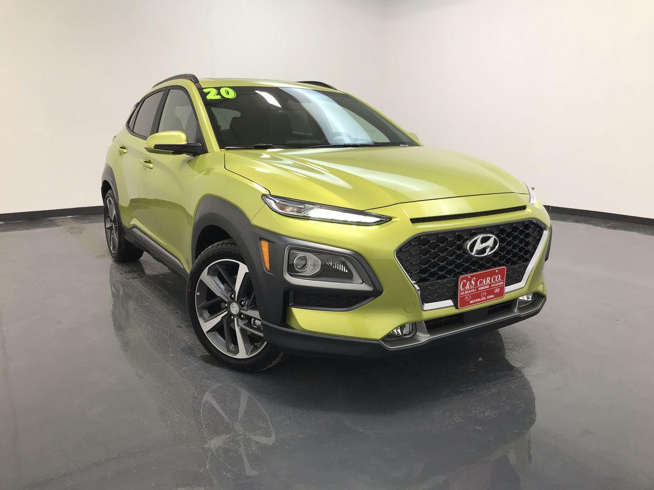 2020 Hyundai kona Ultimate 1.6T FWD  - HY8332  - C & S Car Company