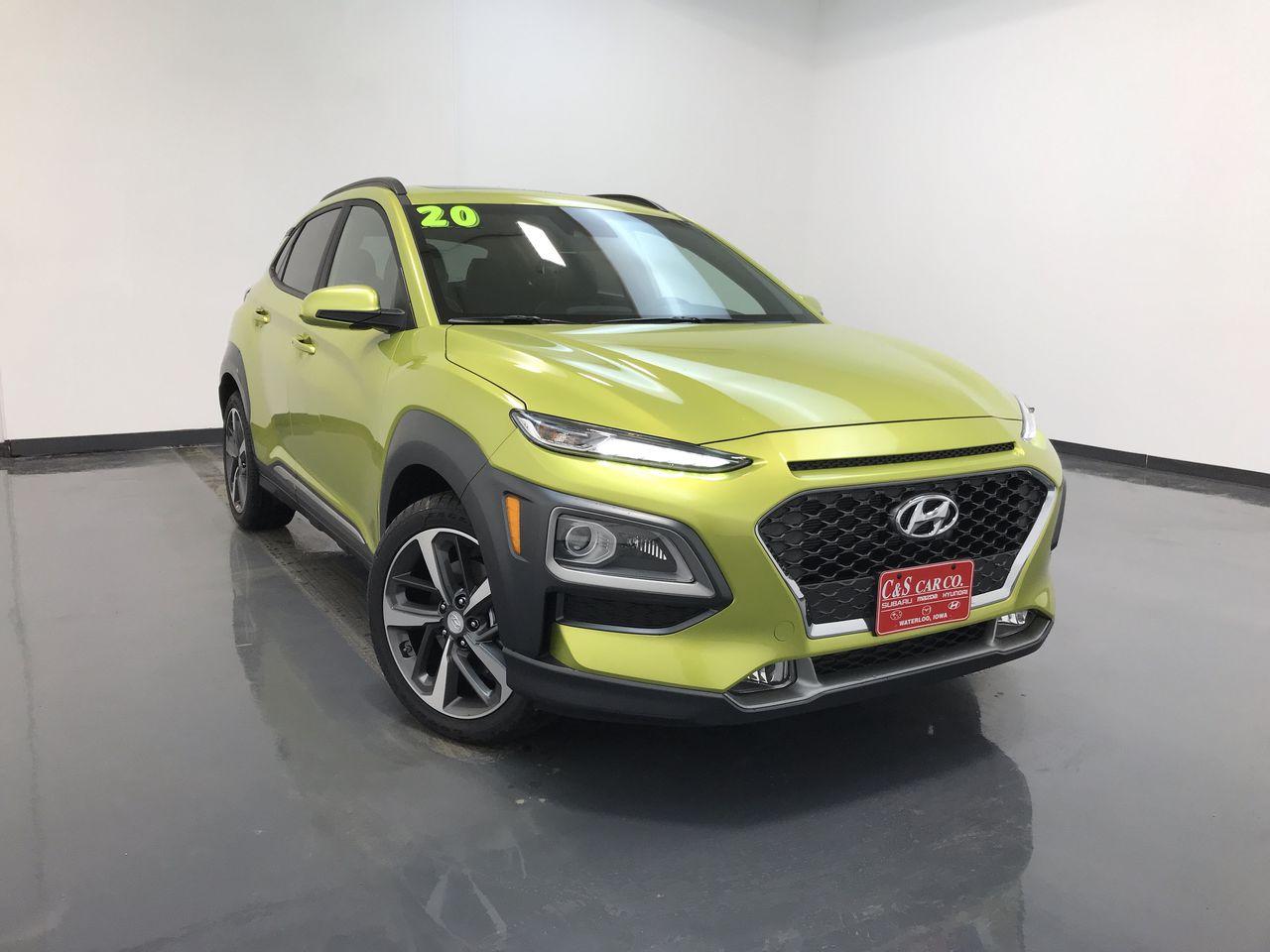 2020 Hyundai kona Limited AWD  - HY8368  - C & S Car Company