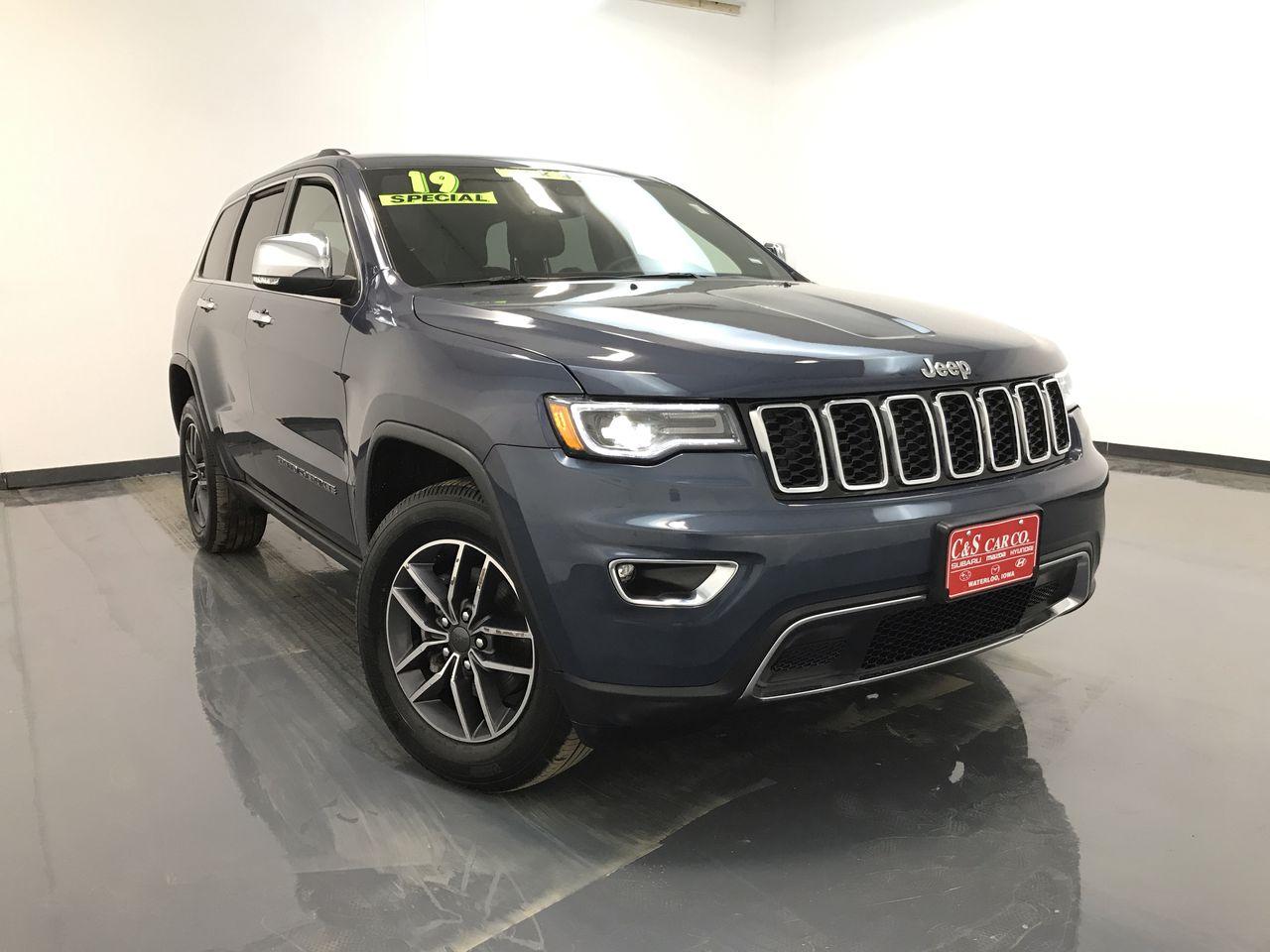 2019 Jeep Grand Cherokee Limited 4WD  - 16113  - C & S Car Company